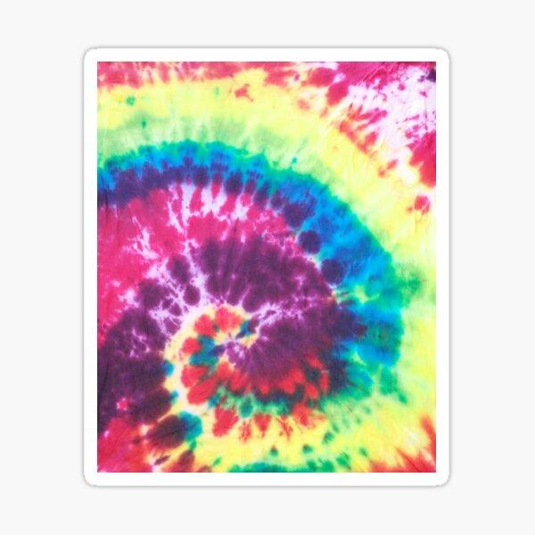 Tie Dye Design Sticker