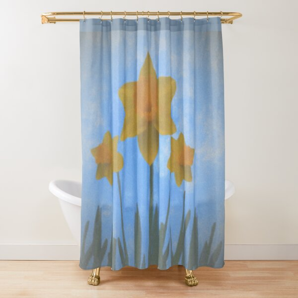 You Will Never Be Alone, stand tall and let your beauty shine through Shower Curtain