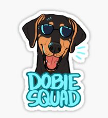 DOBIE SQUAD (black) Sticker