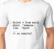 NO RESULT Unisex T-Shirt