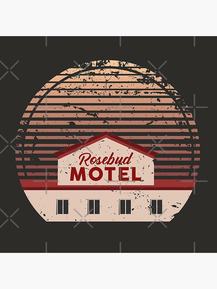 Schitt's Creek Rosebud Motel by EaolaDesign