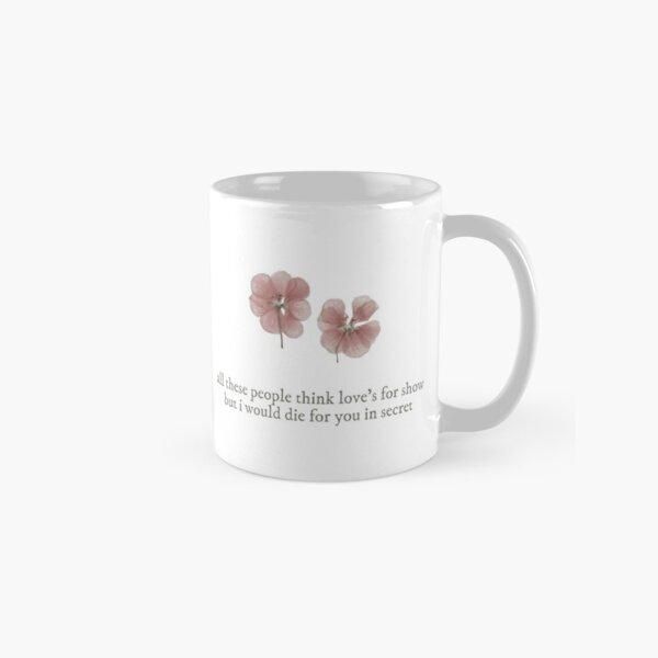 fleurs - paix Mug classique