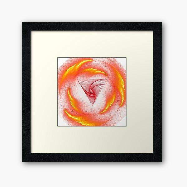 Magical power of God Framed Art Print