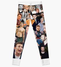 Chris Evans Collage  Leggings