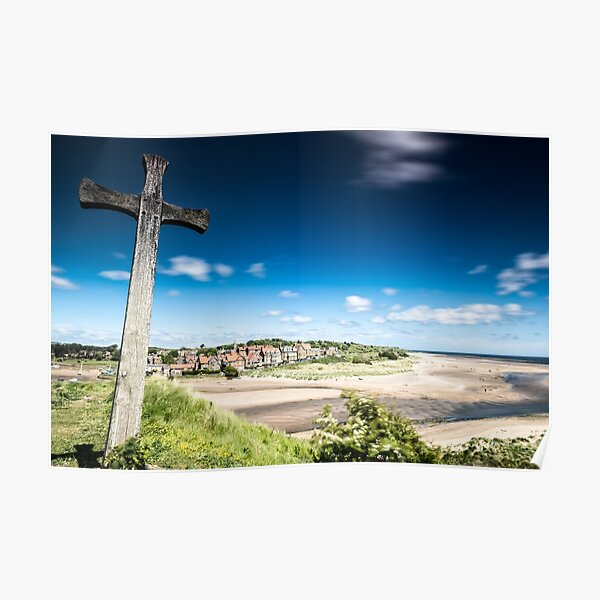 Cross Hill, Alnmouth, Northumberland Poster