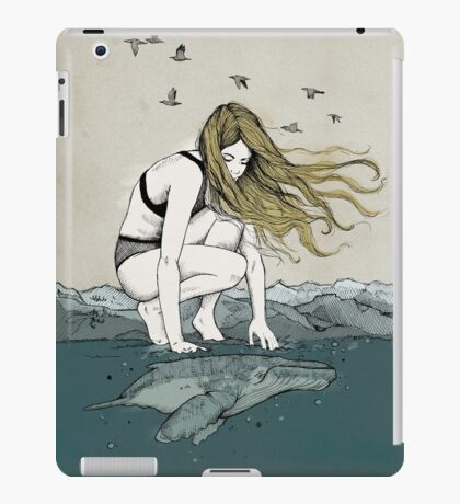 The big and the small one iPad Case/Skin