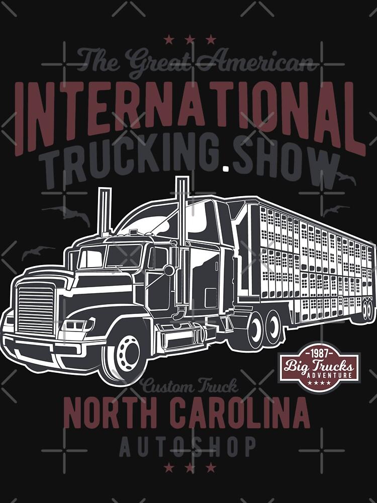 Great American Trucking Show N. Carolina Autoshop by NextLVLShirts