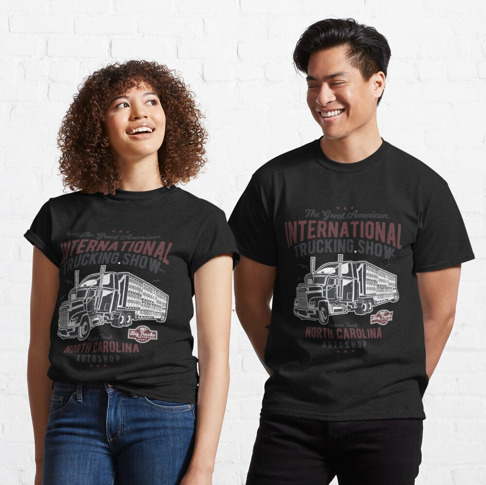 Great American Trucking Show N. Carolina Autoshop Classic T-Shirt