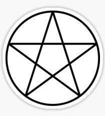 Pentacle Symbol Sticker