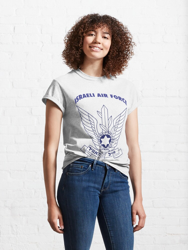 Alternate view of Model 108 - Israeli Air Force Classic T-Shirt