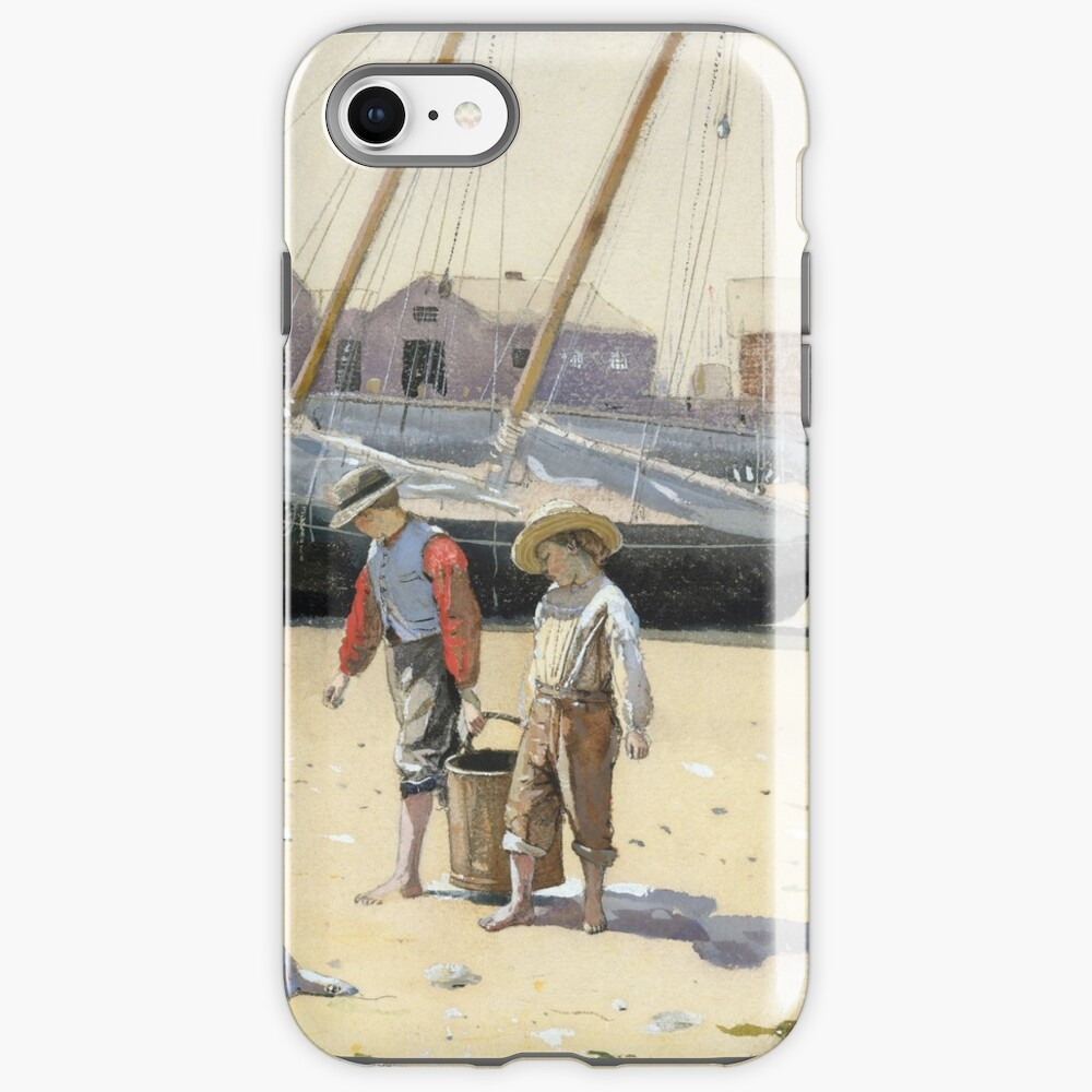 Winslow Homer,  A BASKET OF CLAMS iPhone Case & Cover