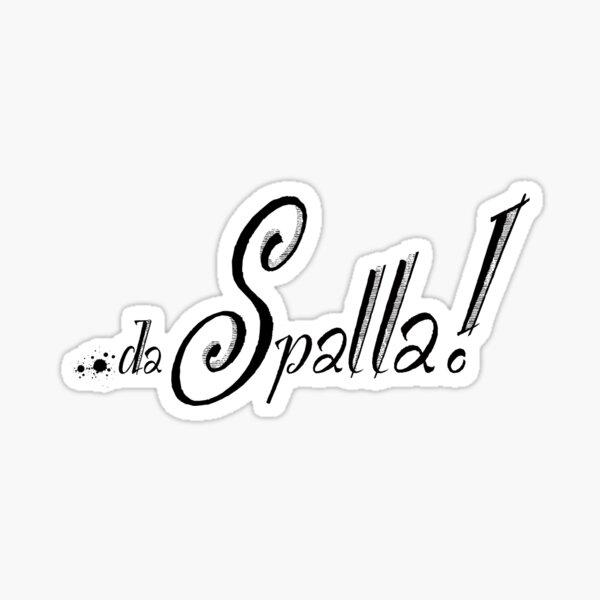da Spalla pride logo Sticker