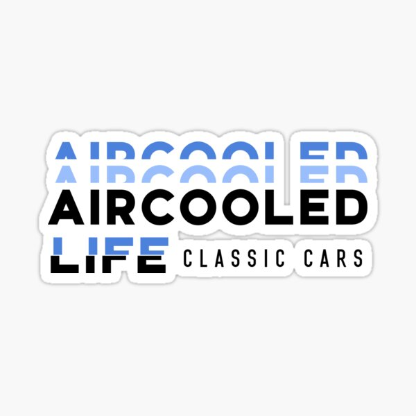Aircooled Life - Classic cars Sticker