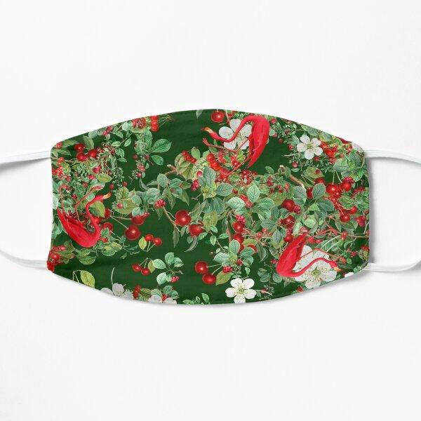Christmas Hawaiian   Flamingo Pattern  Floral Pattern   Cherry Pattern Mask
