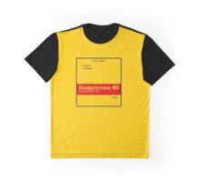 Kodachrome 40 (Type A) Graphic T-Shirt