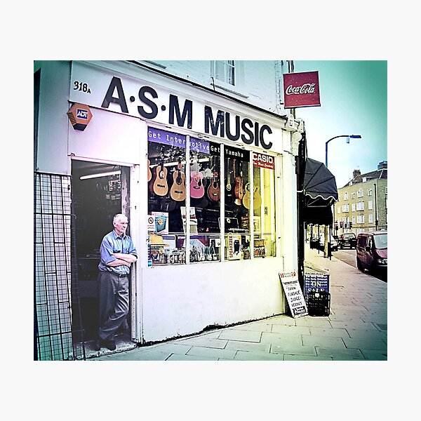 ASM music Photographic Print