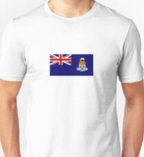 National flag of the Cayman Islands Slim Fit T-Shirt