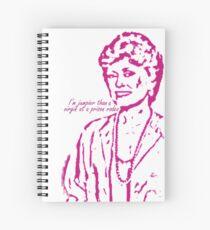 Blanche - Golden Girls Spiral Notebook