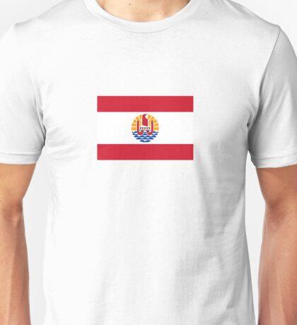 National flag of French Polynesia Unisex T-Shirt