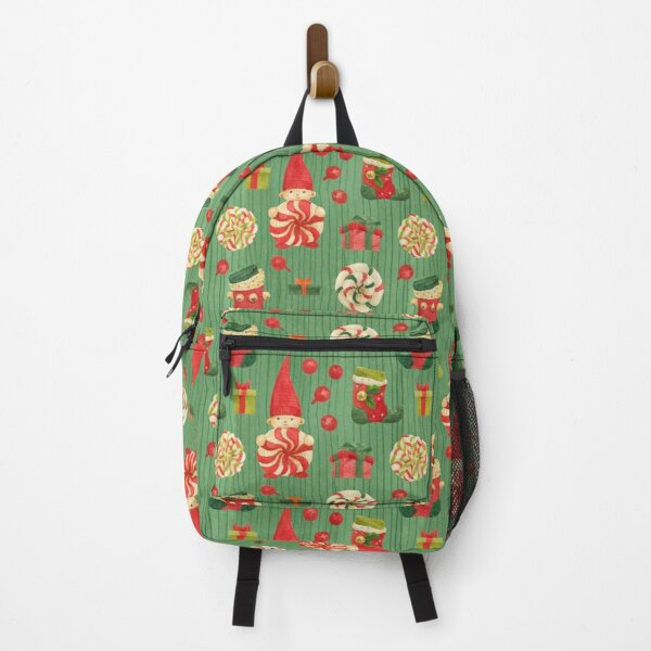 Elf Candy Christmas Backpack