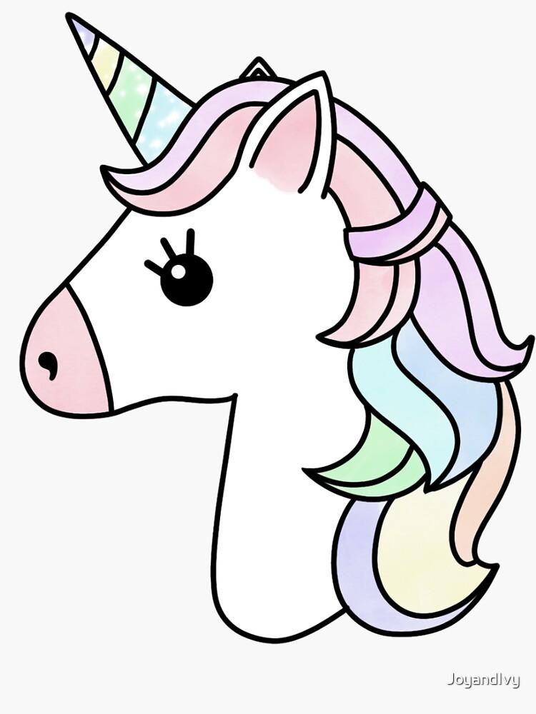 Pastel Unicorn by JoyandIvy