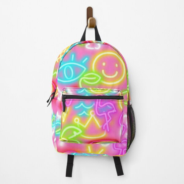colorfull neon Backpack