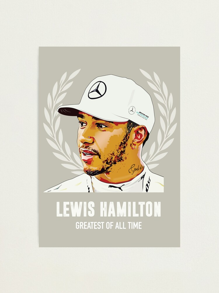 Alternate view of Lewis Hamilton - Greatest of All Time Photographic Print
