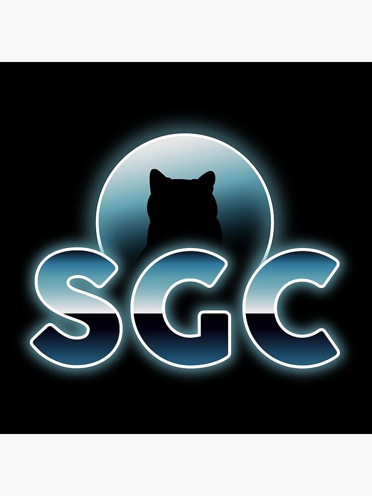 «Shadow Gaming Communautaire SGC Sticker » par ShadowGamingCo