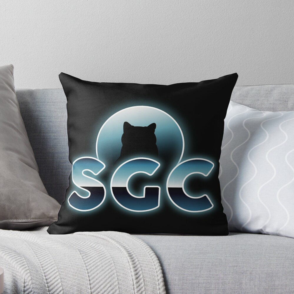 Coussin «Shadow Gaming Communautaire SGC Sticker »