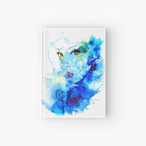 Blue face Hardcover Journal
