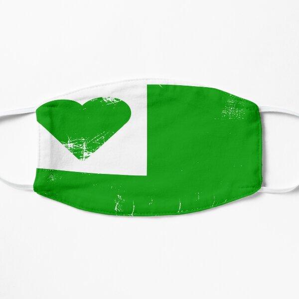 Esperanto Love Flag Flat Mask
