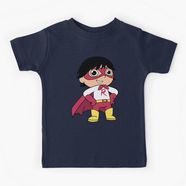 Red Titan Ryan Kids T-Shirt