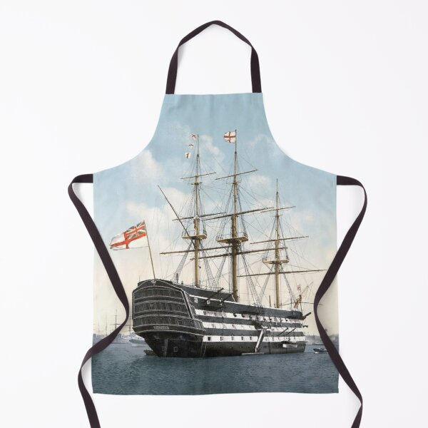 HMS VICTORY. The oldest warship still in commission in the world. Apron
