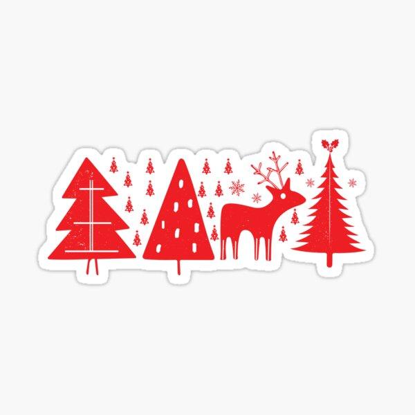 Scandinavian Christmas Sticker