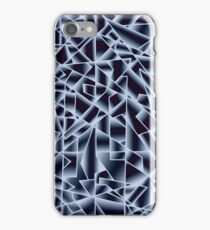 Ice crystals at night iPhone Case/Skin