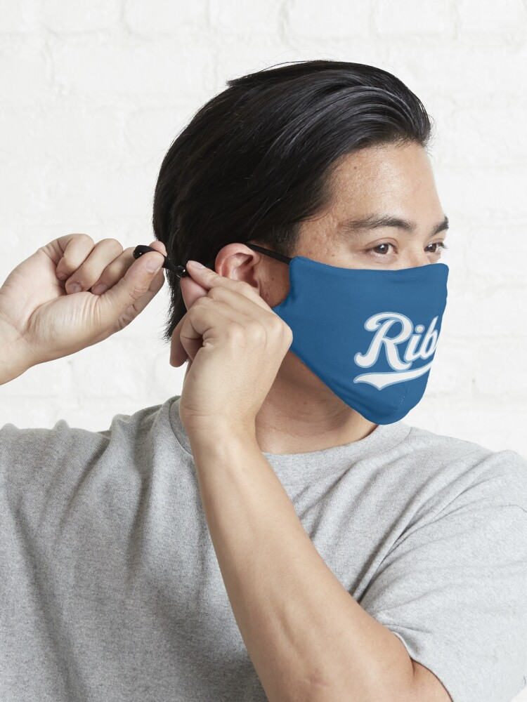Alternate view of KC Ribs - Blue 2 Mask