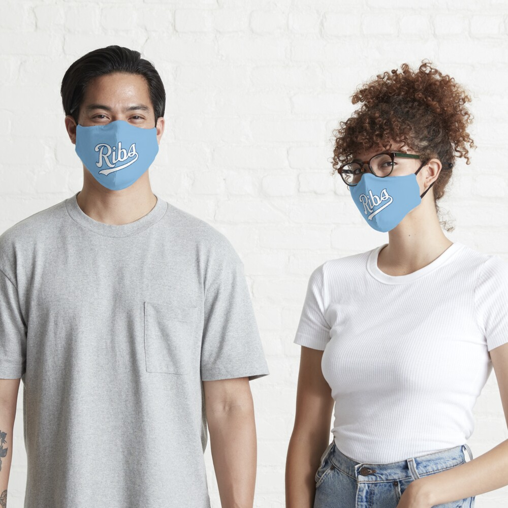 KC Ribs - Powder Blue 2 Mask