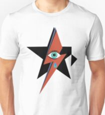 David Bowie : A rock star went to heaven T-Shirt