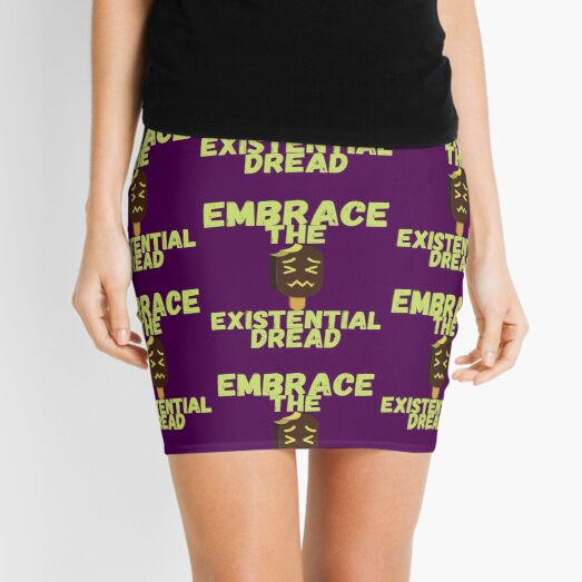 Embrace the existential Dread Mini Skirt