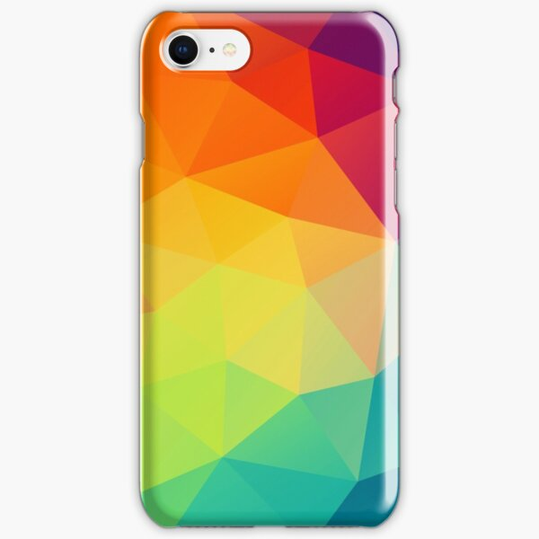 colorful crystal pattern iPhone Snap Case