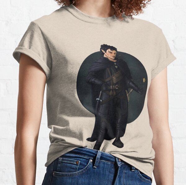 Gnome Rogue Fantasy Print Classic T-Shirt