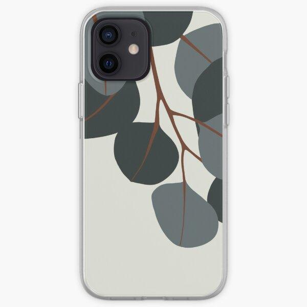 Blue Eucalyptus Branches iPhone Soft Case