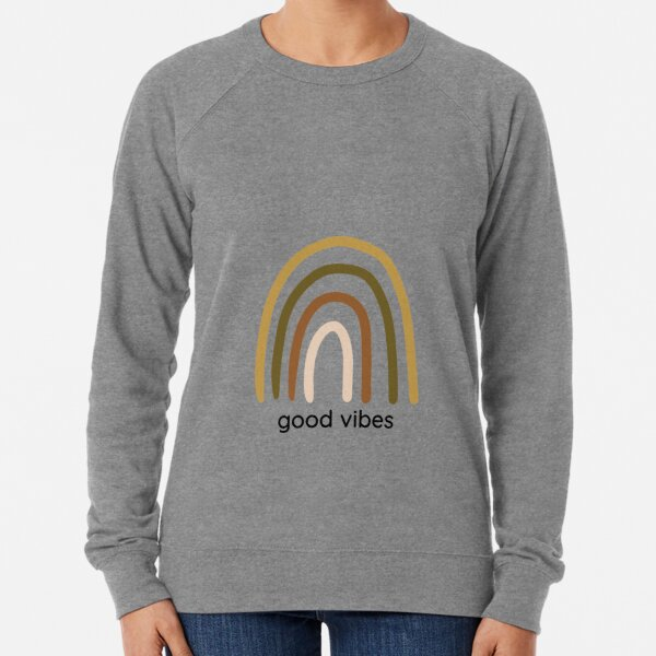 Good Vibes Lightweight Sweatshirt