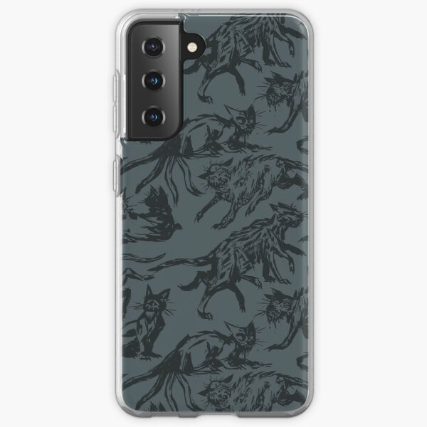 Creepy Cats Samsung Galaxy Soft Case