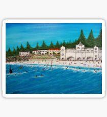 """""""Cottesloe beach"""" EJCairns Sticker"""