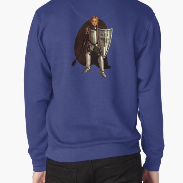Halfling Cleric Fantasy Portrait Print Pullover Sweatshirt