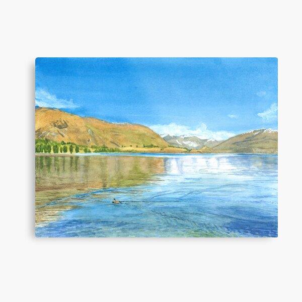 Lake Wanaka in the morning Metal Print