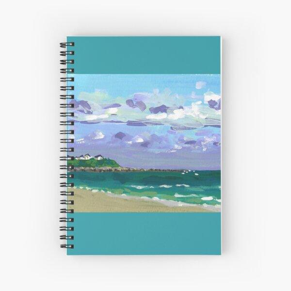 Hampton Beach Spiral Notebook