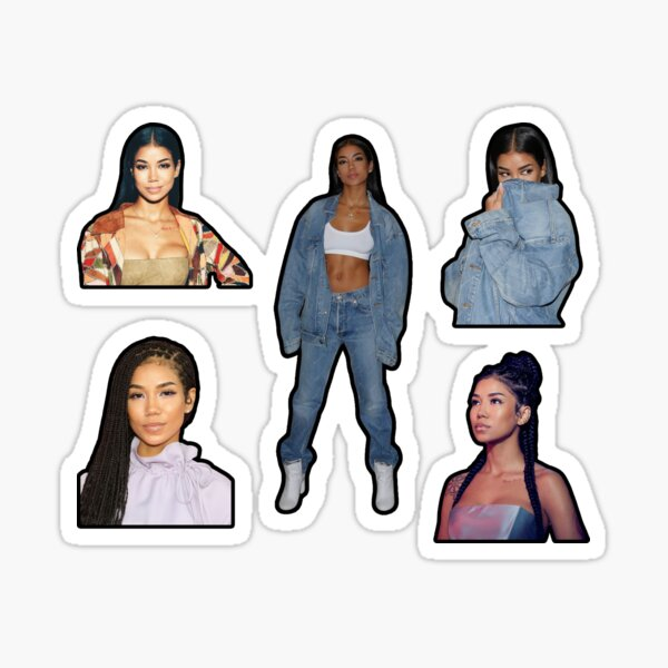 Jhene Aiko Sticker Pack - Birthday Christmas Baby Age Tattoos Merch Fan Art Cute Meme Funny Songs Album Cover Songs Lyrics Quotes CD Love 2020 Daughter Big Sean Tattoo Height Poster Tshirt Book Decor Sticker