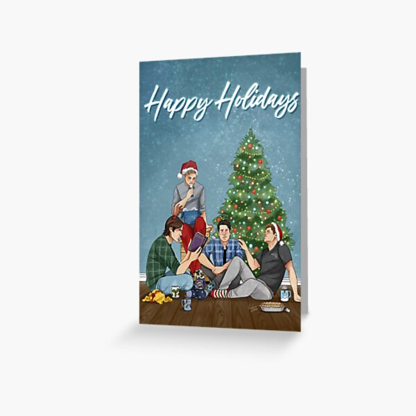 Happy Holidays from the Bunker Greeting Card
